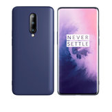 Bakeey Smooth Liquid Silicone Rubber Back Cover Protective Case for Oneplus 7 Pro