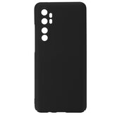 Bakeey for Xiaomi Mi Note 10 Lite Case Silky Smooth Anti-fingerprint Shockproof Hard PC Protective Case with Lens Protector