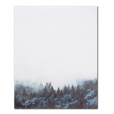 Modern Nordic Minimalist Forest Canvas Art Poster Print Wall Picture Home Office Decor