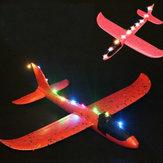 LED luz para epp mão lançamento jogando brinquedo plano diy peças modificadas cor aleatória