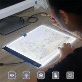 A4 / A5 Tábuas de desenho LED Tábua de rastreamento Almofadas de cópia LED para desenho Tablet Placa de arte Mesa de escrita Stepless escurecimento Artcraft Light Box