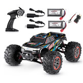 XinleHong 9125 RTR with Two Battery 1/10 2.4G 4WD 46km/h RC Car Vehicles Short Course Truck Model