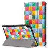 Coque tablette impression triple pli pour tablette Lenovo Tab E10 - Cubicity
