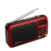 Rolton W405 портативный мини FM Радио музыкальный плеер USB TF карта ПК динамик с LED Дисплей HiFi стерео Приемник цифровой FM Радио
