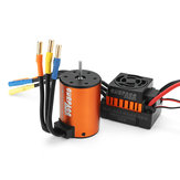 Surpass Hobby Waterproof 3650 3100KV Brushless Motor +45A ESC Combo Set for 1/10 Rc Car Parts