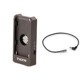 Tilta F970 Bateria Placa de placa 12V DC Linha de cabo de alimentação Fio para estúdio fotográfico com câmera BMPCC 4k 6K