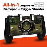 Mobile Gaming Gamepad Controller Trigger Fire L1R1 Button Set For PUBG