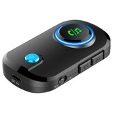 Bakeey T3 2 IN 1 bluetooth 5.0 Receiver Transmitter Car TV Aux Audio Adapter for Samsung Galaxy Note S20 ultra Huawei Mate40 OnePlus 8 Pro