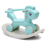 2 in 1 Toddler Little Rocking Horse Baby Walker Ride On Toy Kids Rocker Small Household Kindergarten Chair Supplies