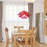 40cm moderne Plug-In-Deckenpendelleuchte DIY Blumen Lampenschirm für Kronleuchter Lampe