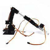 Pequeno Hammer DIY 6DOF Metal Robô Robô Arm Kit Com MG996 Servos