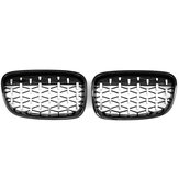 Front Kidney Diamond Style Grille Grill For BMW 1 Series F20 F21 2010-2014