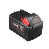 Wymiana baterii 18V 6000 / 9000mAh do Milwaukee M18 48-11-1850 48-11-1852 48-11-1820 48-11-1860 48-11-1828 48-11-1-1-10 Akumulatorowe narzędzia