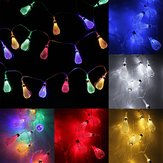 Battery Operated 2.2M 20LEDs Moroccan Bulbs Fairy String Lights for Christmas Wedding Decor
