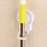 Multifunctional Seamless Sucker Mop Broom Hook Bath Holer Suction Cup Free Of Nail