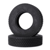 2pcs 1/14 Tractor Tire For Tamiya RC Car Mud Head Container Parts