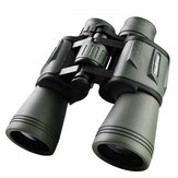 IPRee® 20x50 HD Alta potencia BAK4 Binocular Clear Night Vision Optical Lente Impermeable Telescopio