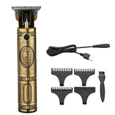 USB Electric Hair Clipper Oil Head Carving Electric Clipper Rechargeable Shaving Hair Clipper
