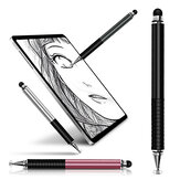 FONKEN Stylus Pen Universal 2 In 1 High Sensitive Double-Head Capacitive Pen لمس شاشة Stylus Drawing Pen For Apple Tablet أندرويد مناسب للأجهزة بالسعة شاشةs