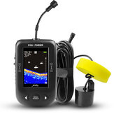 ERCHANG XF02-C 2.8 inch LCD Fish Finder Wireless Sonar 100M Depth Distance Lake Fish Detect Professional Wireless Sonar Sensor