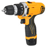 12/18/21V 25+1 Torque 2 Speed Cordless Electric Drill Screwdriver W/ LED Light