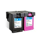 Colorpro 652XL Mürekkep Kartuşu Mürekkep Uygulaması HP DeskJet Hp1115 HP2135 HP3635 HP1118 Yazıcı için Uyumlu