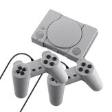 DATA FROG PS1 Mini 8-bit 620 Jogos Clássicos Retro Mini TV Console de videogame com Gamepads