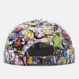 Banggood Design Mænd Cartoon Cartoon Cute Casual Brimless Landlord Cap Skull Cap
