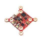 HGLRC Zeus VTX 5.8G 40CH PIT / 25/100/200/400 / 800mW Smart Mounting 20 * 20mm / 30 * 30mm FPV Transmitter Ενσωματωμένο μικρόφωνο για FPV RC Racing Drone