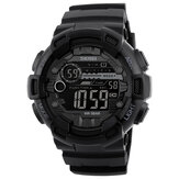 SKMEI 1243 5ATM Waterproof Digital Men Sport Time Digital Assistir