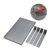 Plaque en aluminium d'insertion de Tableau de routeur de 285mm x170mm pour la raboteuse de gravure de travail du bois