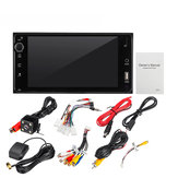 4 canali x 40 W MAX USB / AUX 4 Core 1080P Car Radio Stereo 7 '' Android MP5 Multimedia Player 16GB Per modelli Toyota