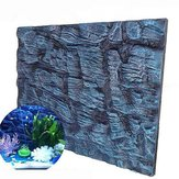 Aquatic Creations Universal Rocks Aquarium Hintergrund 3D Foam Fish Tank Hintergrund