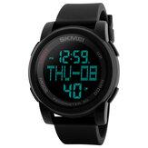 SKMEI1317ШагомерLEDОбратныйотсчет Цифровые Мужские Спортивные Часы