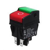 KEDU HY52 250 В 12A 4Pins Электрический Кнопочный Переключатель Для Механический Устройства