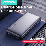 JOYROOM Power Bank 20000mAh LED Display 2 USB Power Supply With Mico USB Type-C Input Fast Charging For iPhone XS 11Pro Huawei P30 P40 Pro Mi10 Oneplus 8Pro