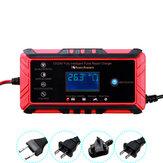 12 / 24V 8A / 4A Touch Screen Pulse Repair LCD Bateria Carregador para motocicleta de carro ácido chumbo Bateria Agm Gel molhado