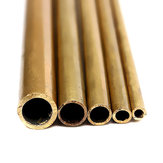 2-6mm Diameter Round Brass Tubes for Model building Craft 300mm Long Brass Tube