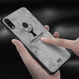 BAKEEY Deer Shockproof Anti-Scratch Cloth&TPU Protective Case For Xiaomi Redmi 7 / Redmi Y3