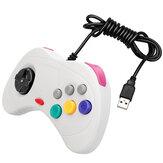 DATENFROSCH Classic Retro Handheld USB Wired Game Controller Gamepad Gaming Joypad für Windows PC Mac