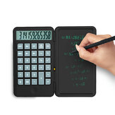 NEWYES Desktop Calculator with Portable LCD Handwriting Screen Writing Tablet 12-digit Display Repeated Writing Primary School Business Stationery Office Supplies