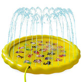 Outdoor 170cm Spray Pad Garden Beach Pad Sprinkler Splash Play Water Swimming Air Mattress Game Kids Play