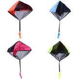 Kids Hand Throwing Parachute Toys Outdoor Funny Game Tangle Free Parachute Toy