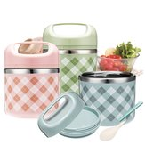 Aspiradora portátil de acero inoxidable Lunch Caja Picnic Thermos Food Storage Container