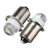 2PCS P13.5S LED Flashlight Replacement Bulb 0.5W 100LM Torch Work Light Lamp DC 6V Pure White