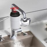 Bakeey3000W接続タイプデジタルディスプレイ無料設置電気温水蛇口シャワーコネクタ付きインスタント温水蛇口