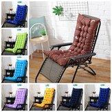 8 Cores 40 * 110 * 8 cm Almofada Da Cadeira de Algodão Soft Espreguiçadeira Deck Topper Thick Pad