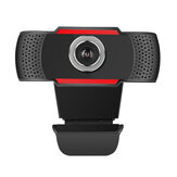 R9 720P HD Webcams USB Caméra d'ordinateur 2MP Microphone insonorisant intégré Résolution dynamique 1280 * 720