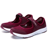 Casual Mesh Light Soft Sole Breathable Outdoor Sport Flats