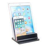 Economia de espaço de Liga de Alumínio Desktop Portátil Titular Tablet Stand Holder Para Notebook Laptop Tablet Telefone Inteligente Macbook iPhone